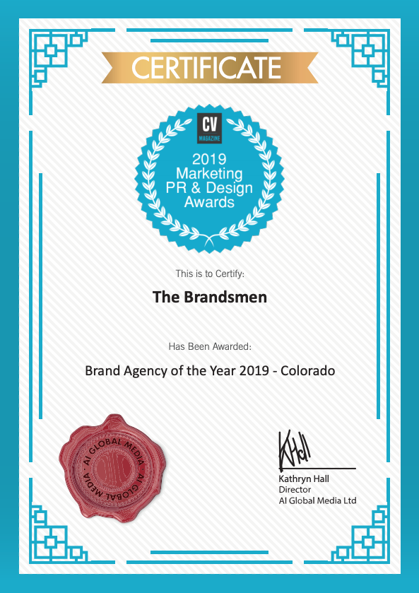 Brand Agency of the Year Colorado