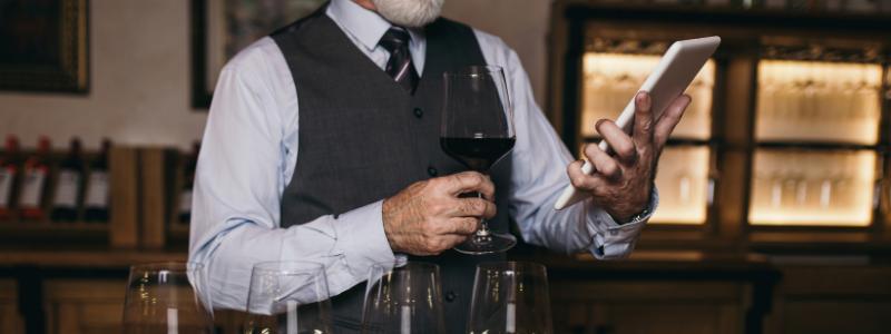 social media for wineries